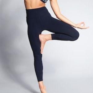 NWOT Athleta 7/8 High Rise Salutation Leggings